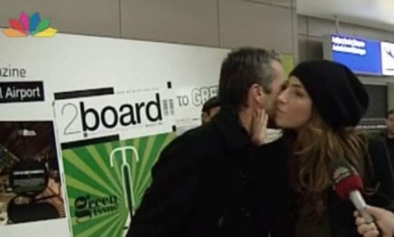 Παπαρίζου – Καψάλης: Φιλιά και αγκαλιές μπροστά στην κάμερα!