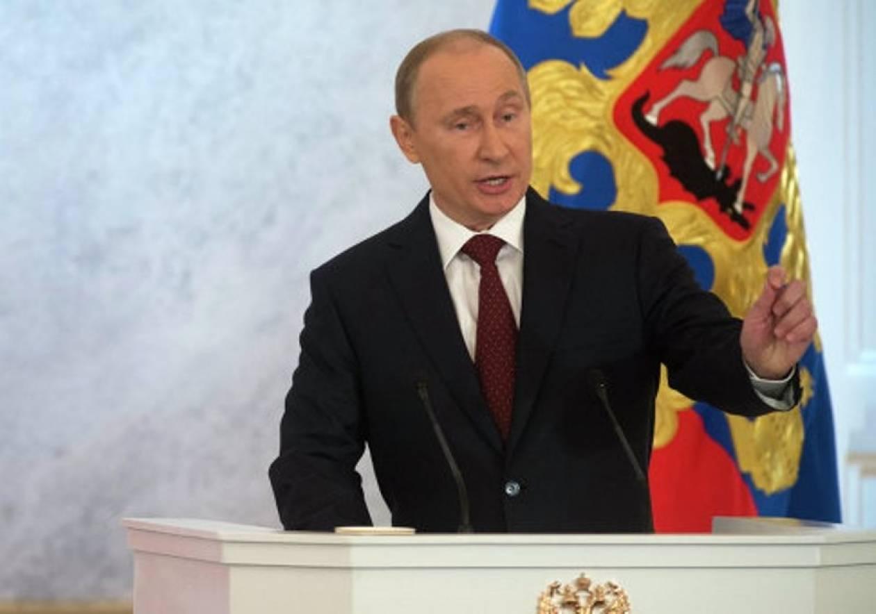 Πούτιν: Η αντιπολίτευση υπηρετεί ξένα συμφέροντα