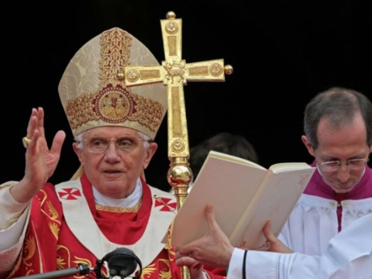 Το πρώτο tweet του Πάπα Βενέδικτου