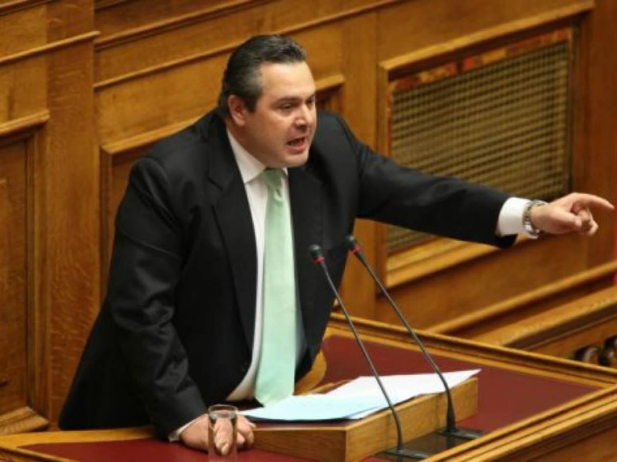 Καμμένος: «Η ΝΔ έχει βγει σεργιάνι για να βρει βουλευτές»