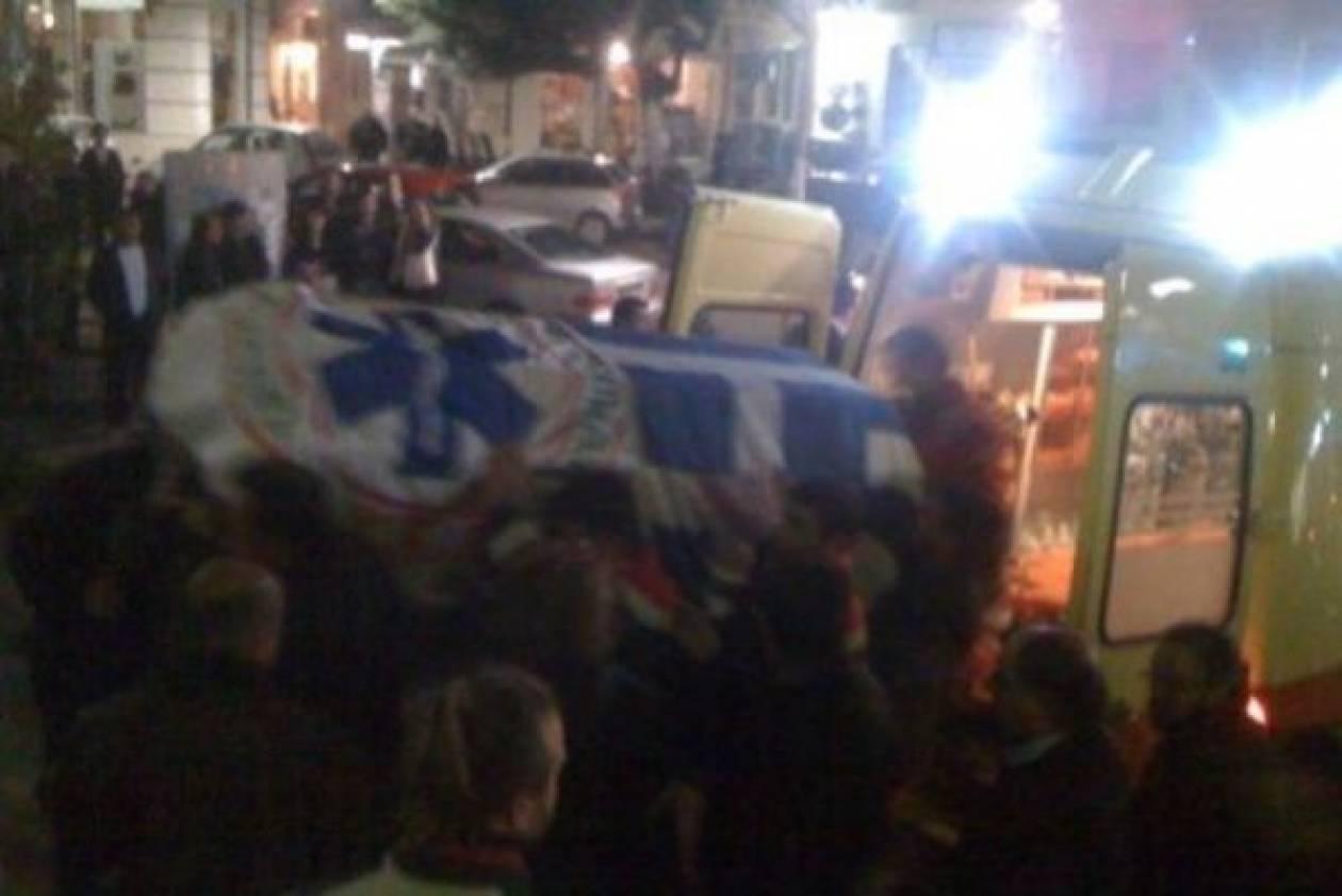 Σπαραγμός στην Κρήτη για τους άτυχους διασώστες του ΕΚΑΒ
