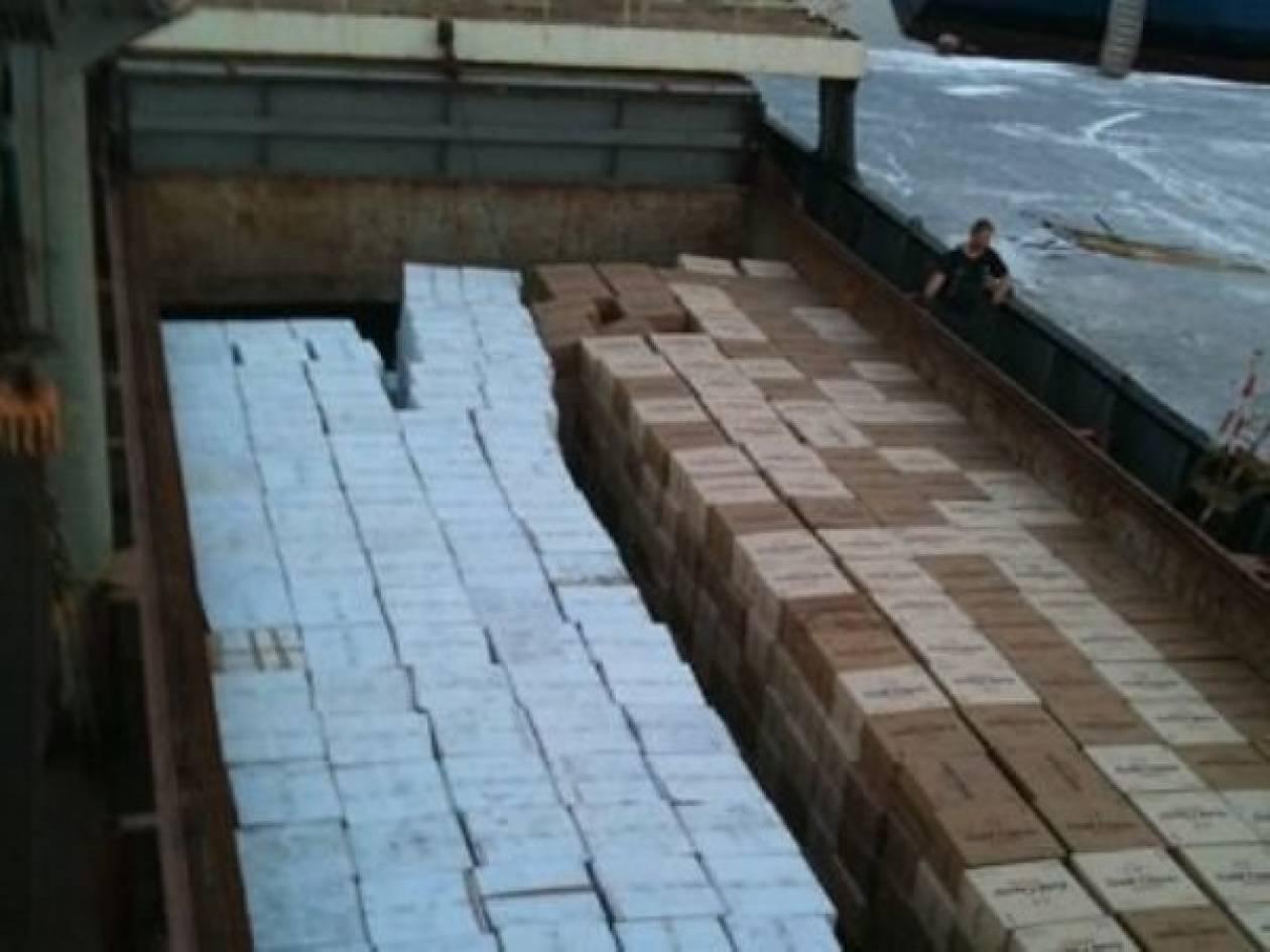 «Πλημμύρισε» το λιμάνι των Χανίων με λαθραία τσιγάρα