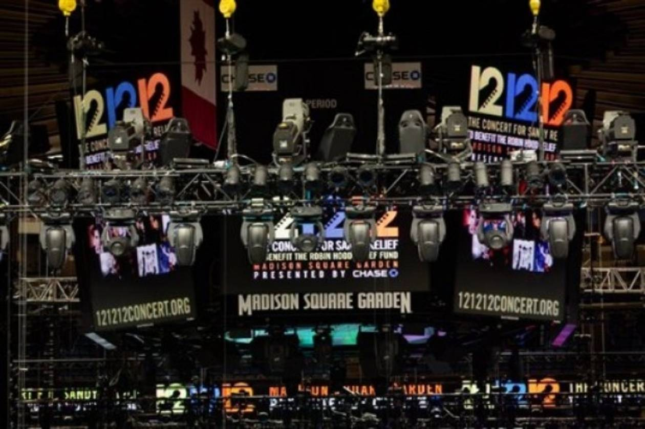 Παρέλαση σταρ στη συναυλία για τα θύματα του τυφώνα Σάντι