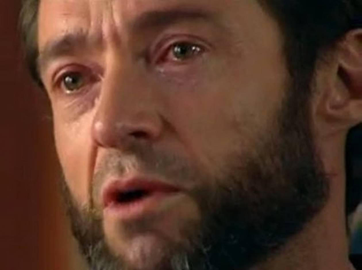 Το συγκλονιστικό ξέσπασμα του Hugh Jackman