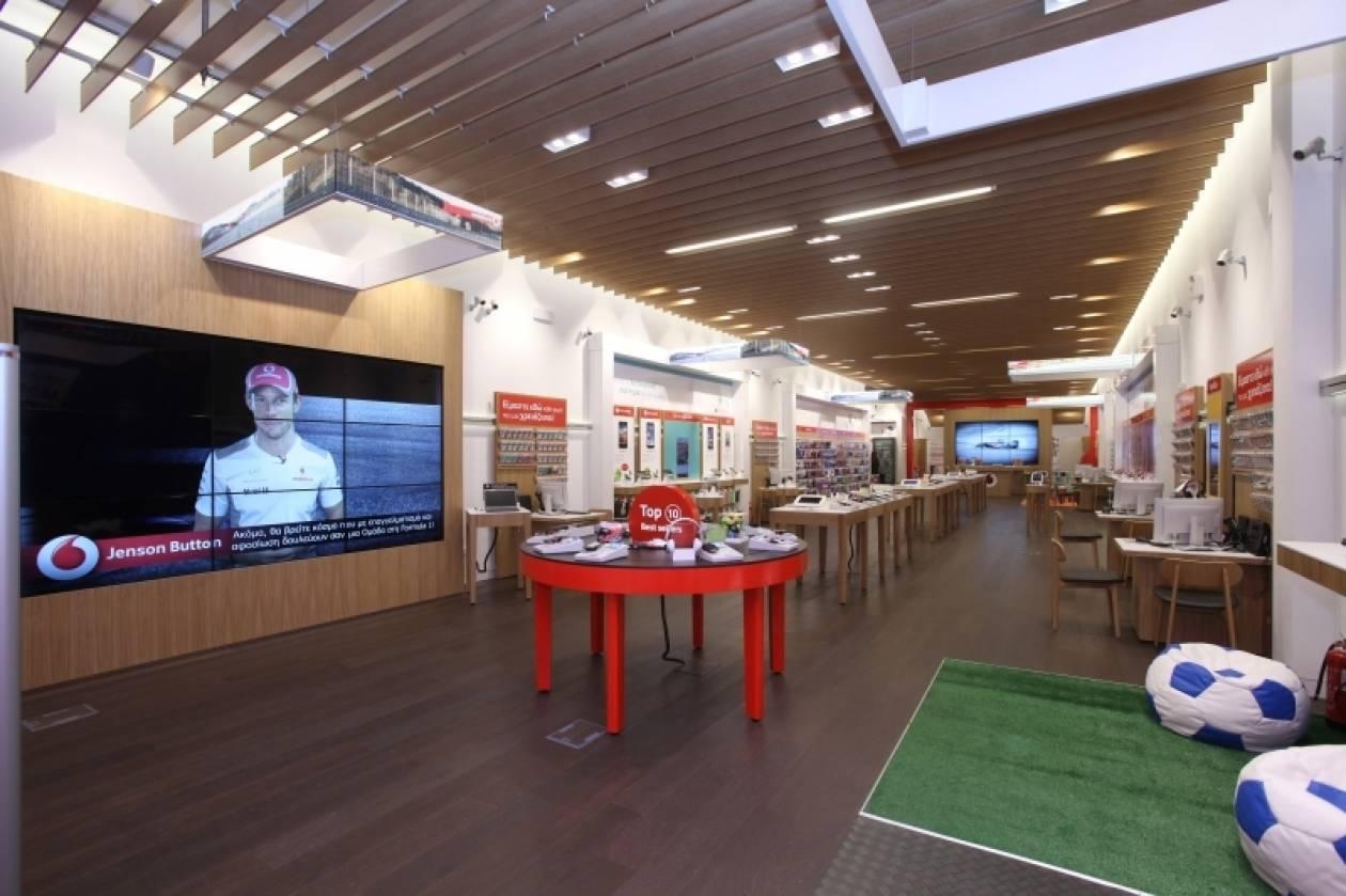 Vodafone@The Mall Athens Μοναδικός προορισμός…