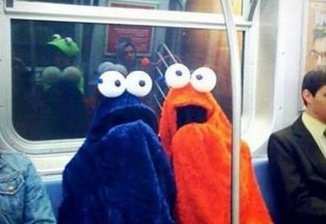 Ο πιο άκυρος τύπος που μπορείτε να συναντήσετε μέσα στο μετρό