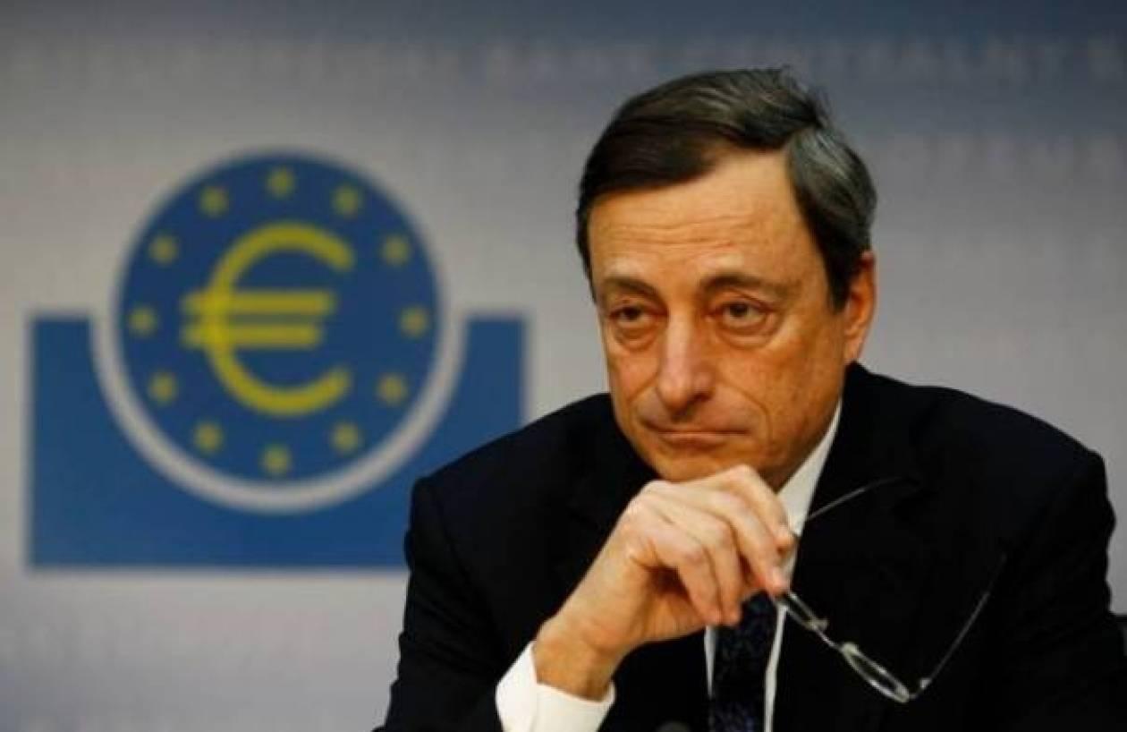 Χαιρετίζει και ο Ντράγκι την απόφαση για τραπεζική εποπτεία