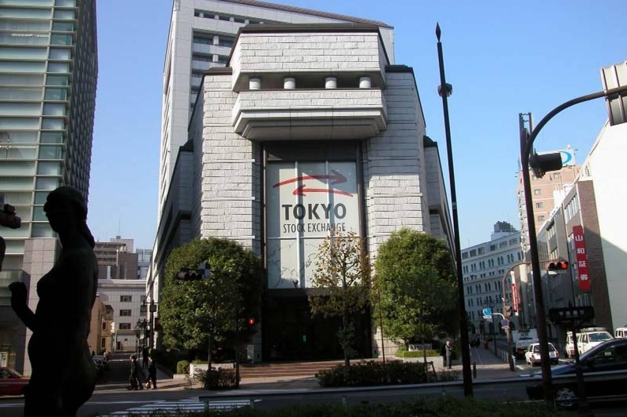 Άνοιγμα με πτώση στο Τόκιο
