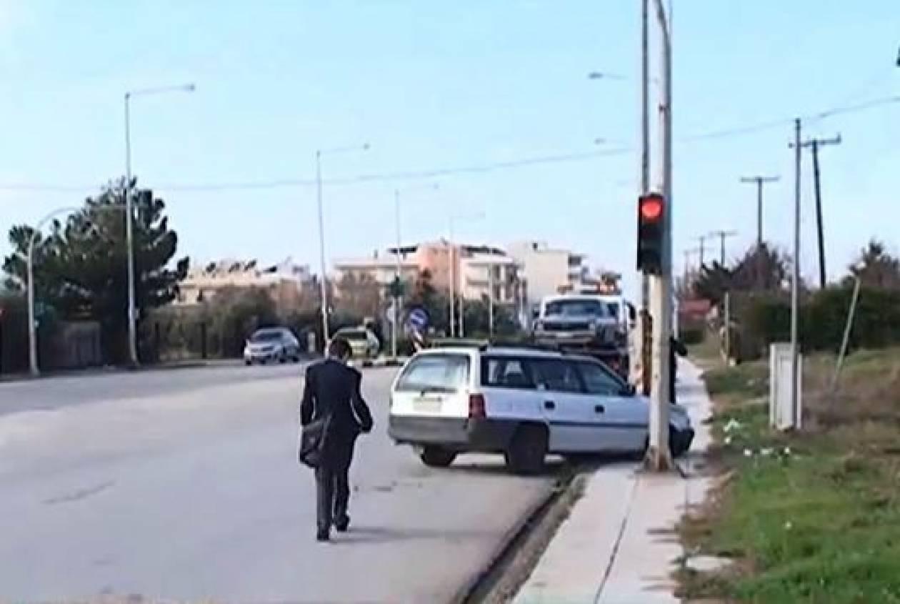 Βίντεο: Τροχαίο με δύο τραυματίες στην Αλεξανδρούπολη