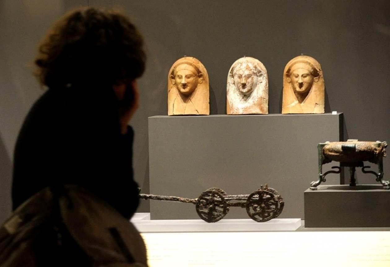 Οι Πριγκίπισσες της Μεσογείου  στο Μουσείο Κυκλαδικής Ιστορίας