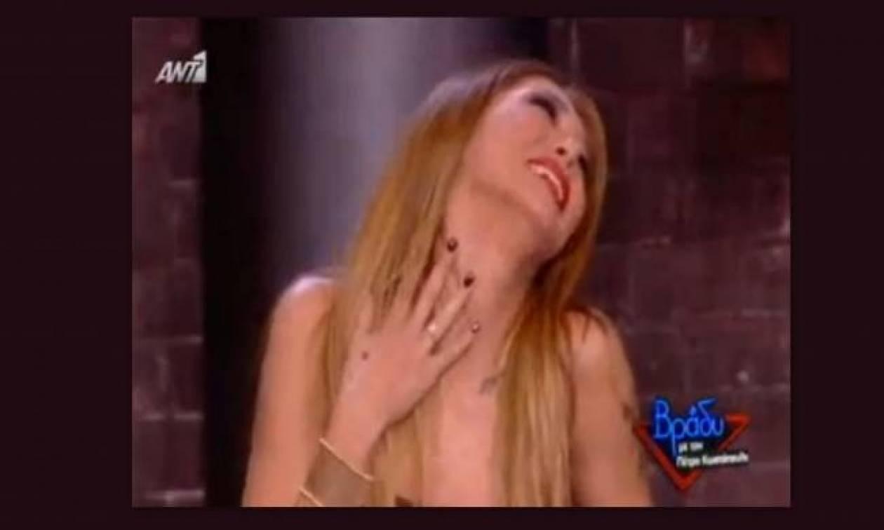 Αγγελική Ηλιάδη: Το «μέγεθος», η έλλειψη σεξ και τα χαστούκια!