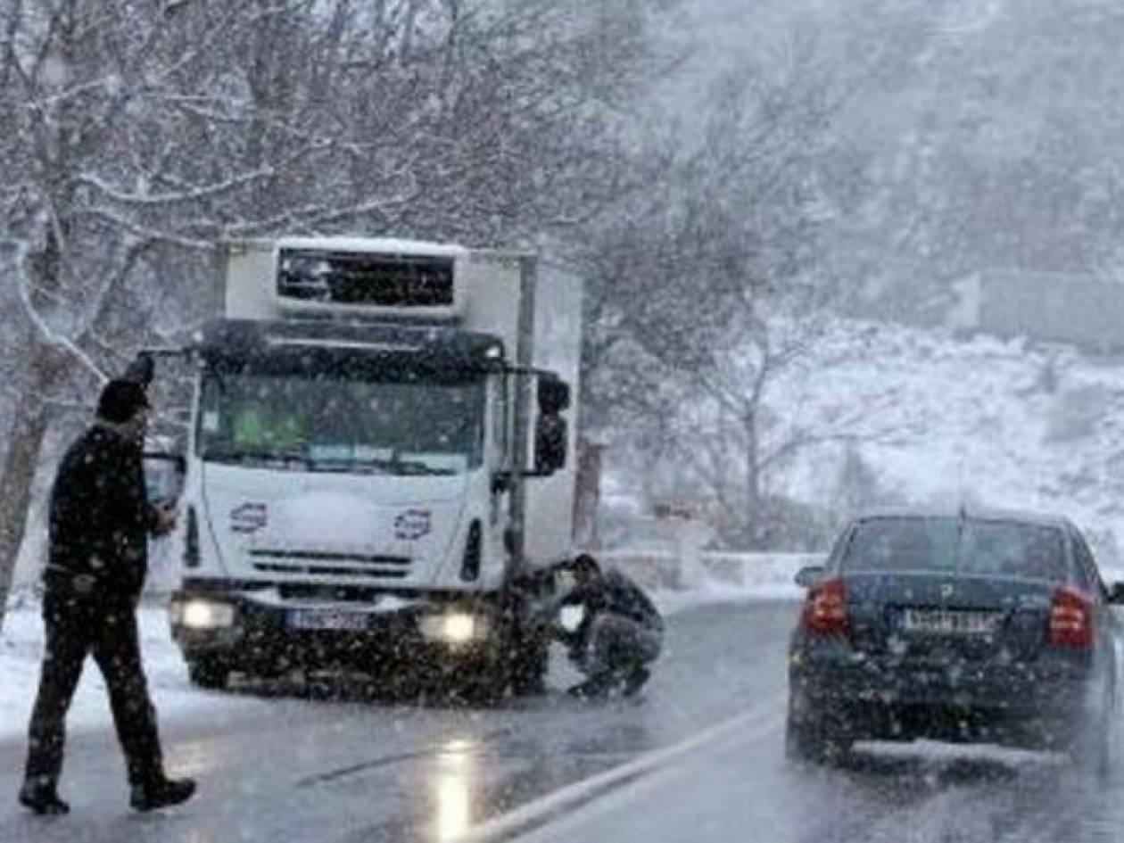 Πολικές θερμοκρασίες: -15 στη Φλώρινα, -12 στην Καστοριά
