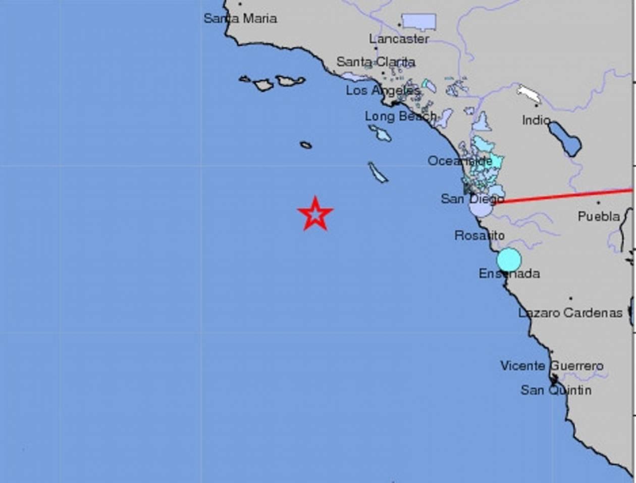 Σεισμός 6,1 βαθμών στην Καλιφόρνια