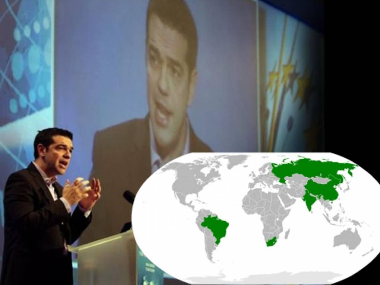 Οι στόχοι της επίσκεψης του Α. Τσίπρα σε Βραζιλία και Αργεντινή