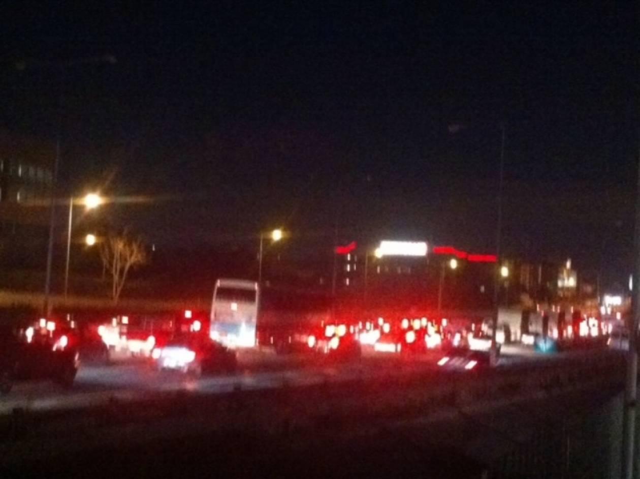 ΤΩΡΑ:Κυκλοφοριακό κομφούζιο στην εθνική οδό Αθηνών–Λαμίας