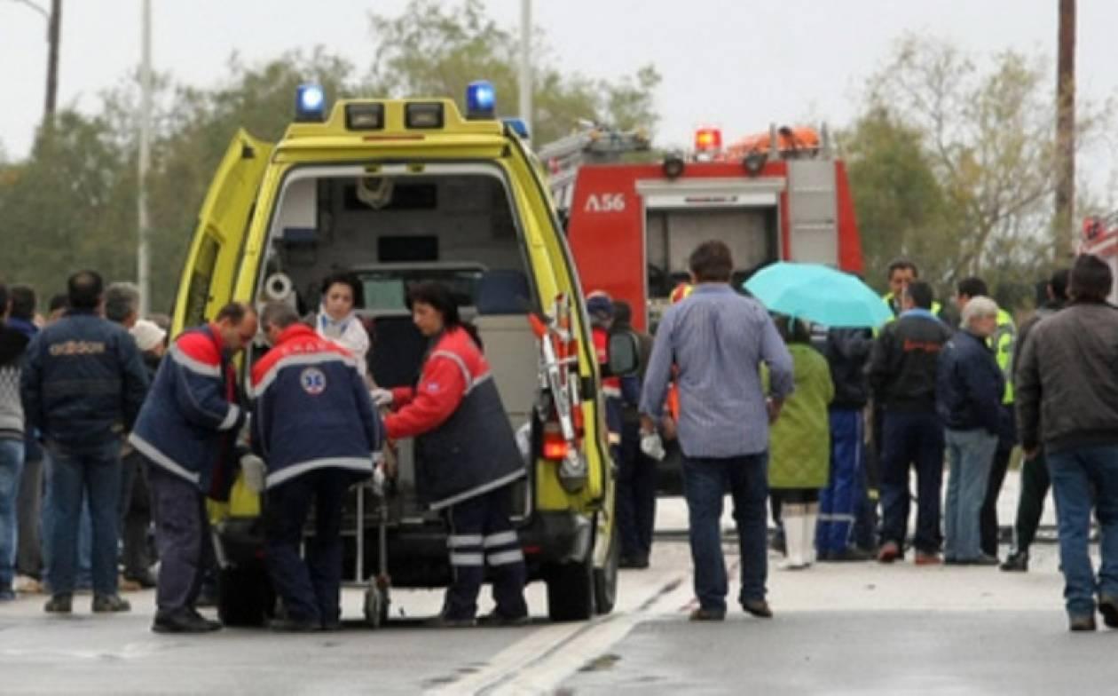 Με το αίμα τριών ανθρώπων βάφτηκε η άσφαλτος στη Λάρισα