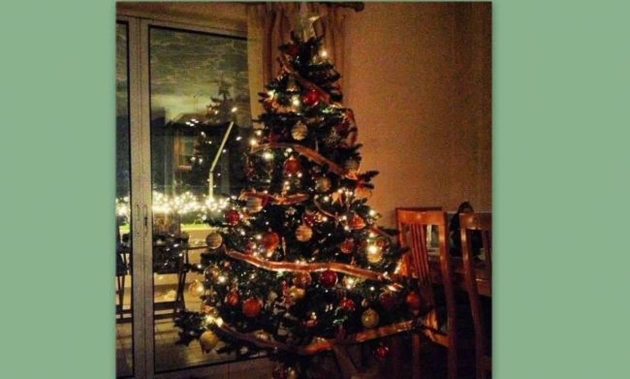 Ποια παρουσιάστρια στόλισε αυτό το χριστουγεννιάτικο δέντρο