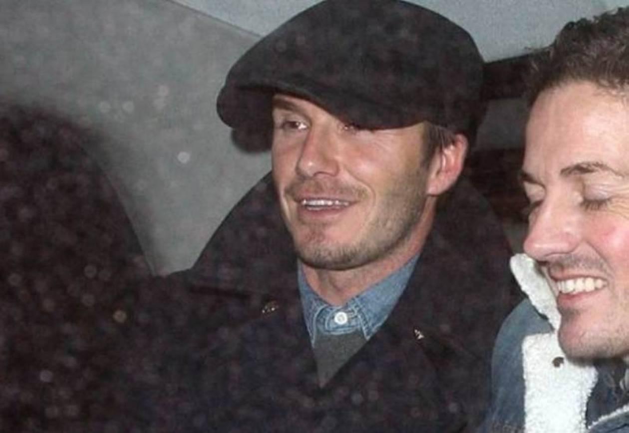 David Beckham: Διασκέδασε με την παρέα του στο Λονδίνο