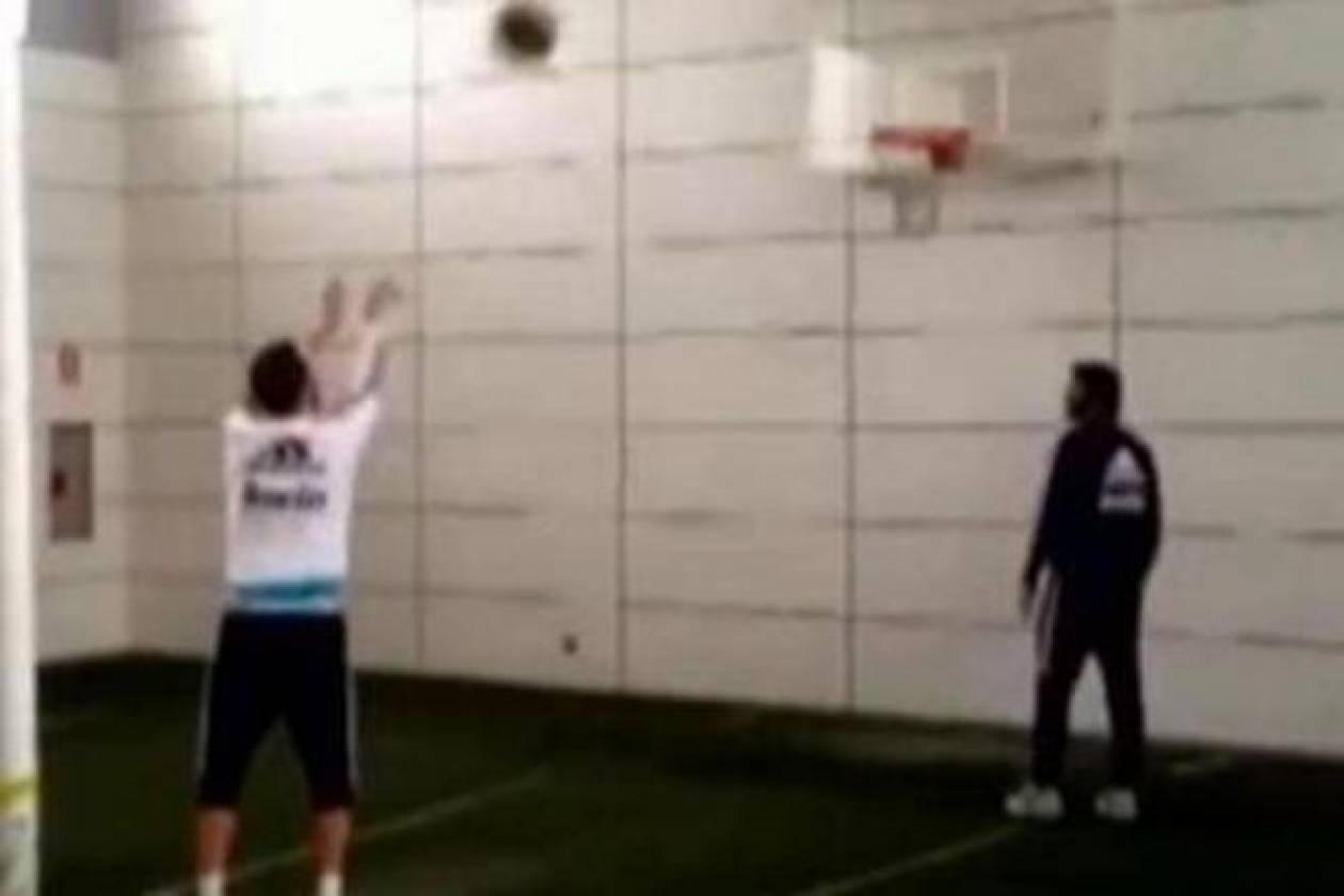 Ρεάλ Μαδρίτης: Το… έριξε στο μπάσκετ ο Ιγκουαΐν! (video)