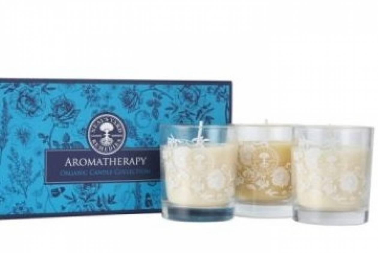Ιδέα για δώρο: Τα κεριά της Neal's Yard Remedies