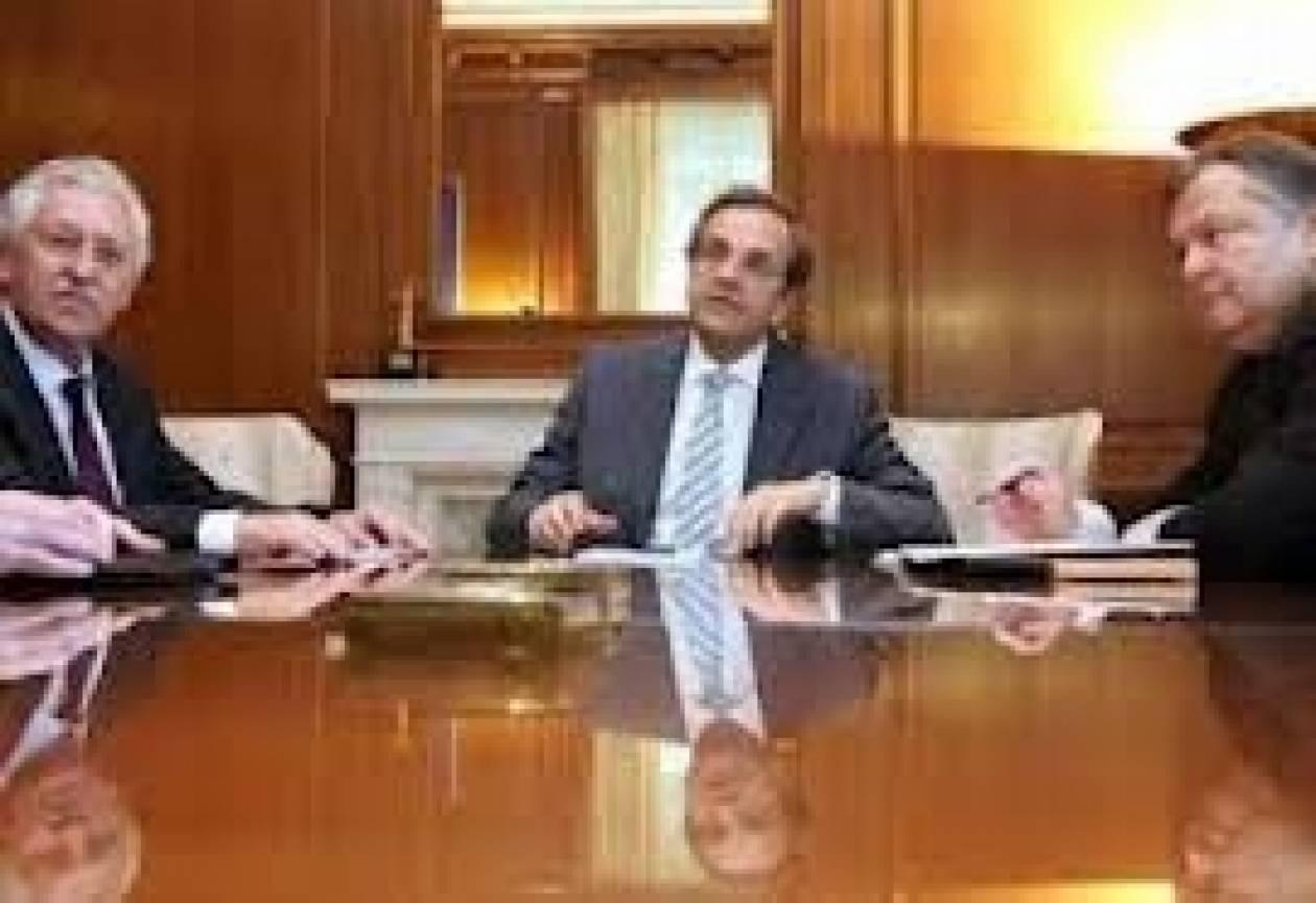 Συνάντηση Αντ. Σαμαρά με Ευ. Βενιζέλο και Φ. Κουβέλη την Τρίτη