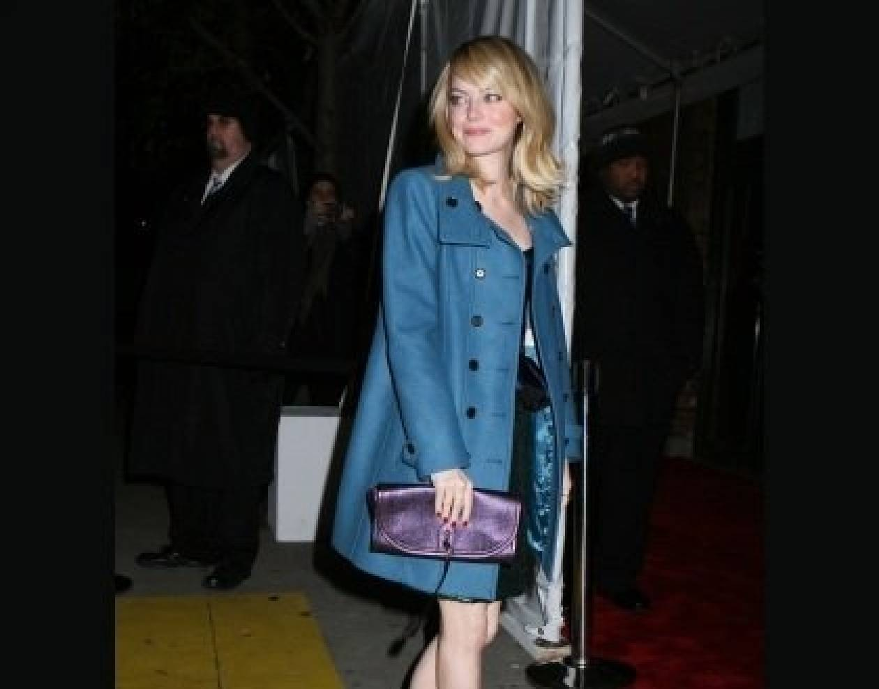 Η Emma Stone είναι beauty junkie