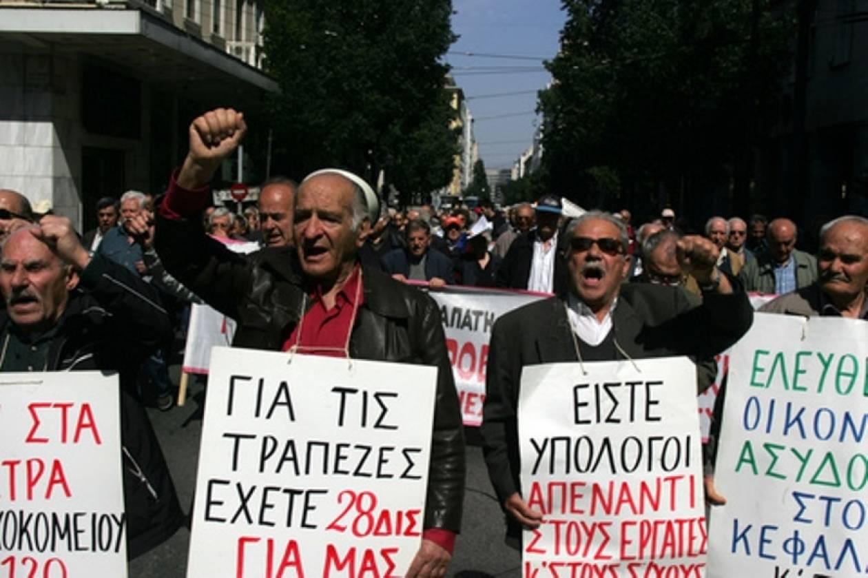 Kρήτη: Στους δρόμους κατεβαίνουν οι συνταξιούχοι την Τρίτη