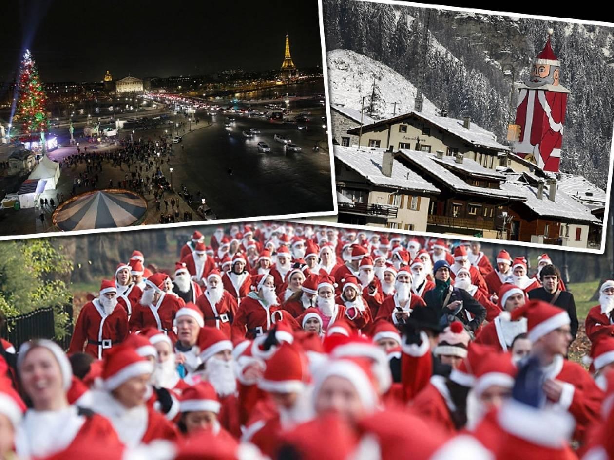 Χριστουγεννιάτικες εικόνες απ΄όλον τον κόσμο