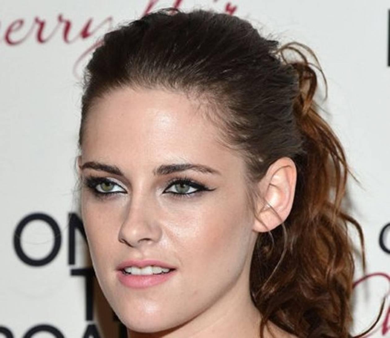 Αντιγράψτε το look: τα sexy cat eyes της Kristen Stewart