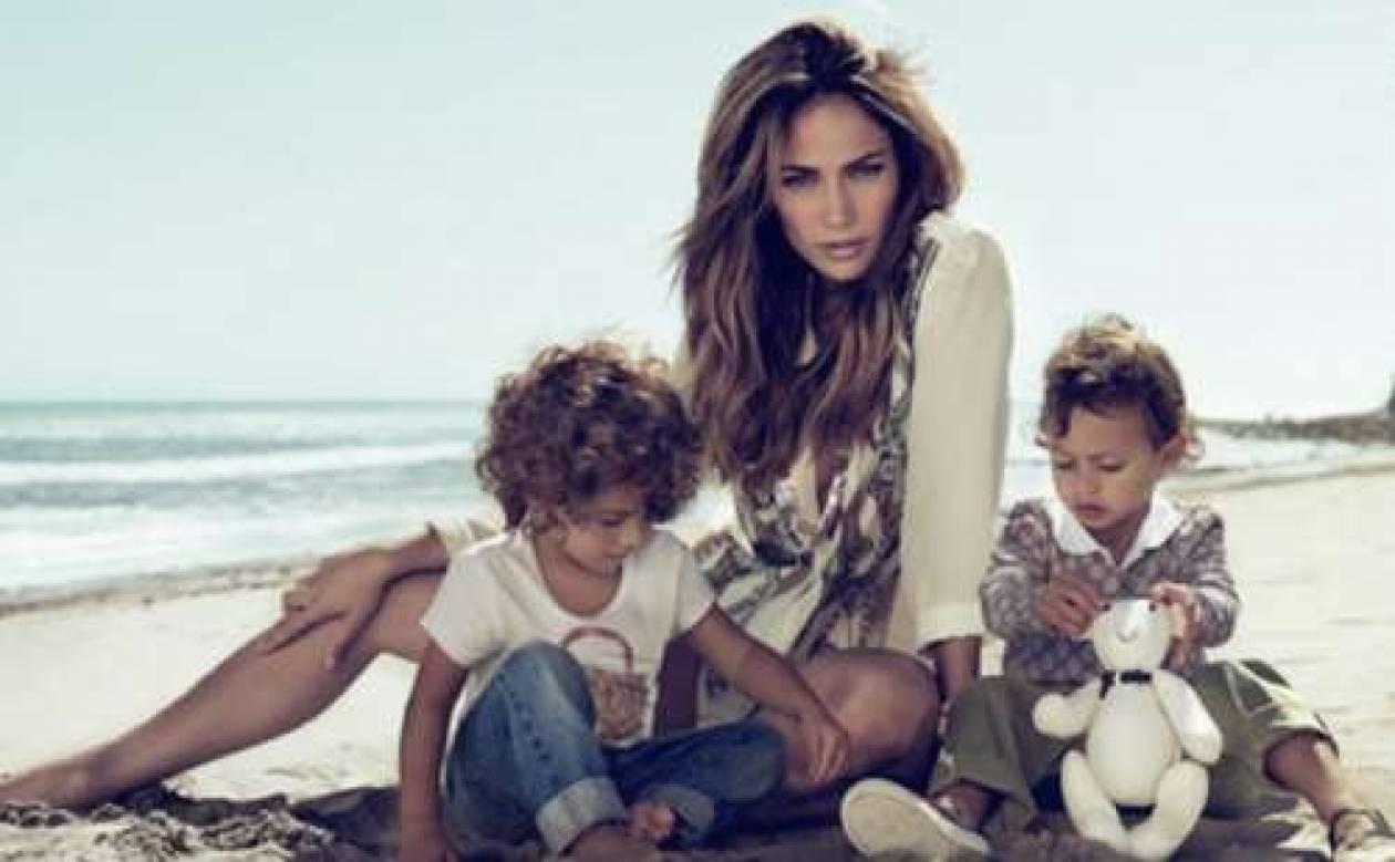 ΒΙΝΤΕΟ: Για πρώτη φορά στην κάμερα η JLO με τα παιδιά της!