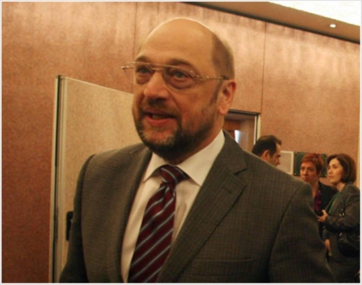 Αισιόδοξος για την πορεία της Ελλάδας ο Μάρτιν Σουλτς