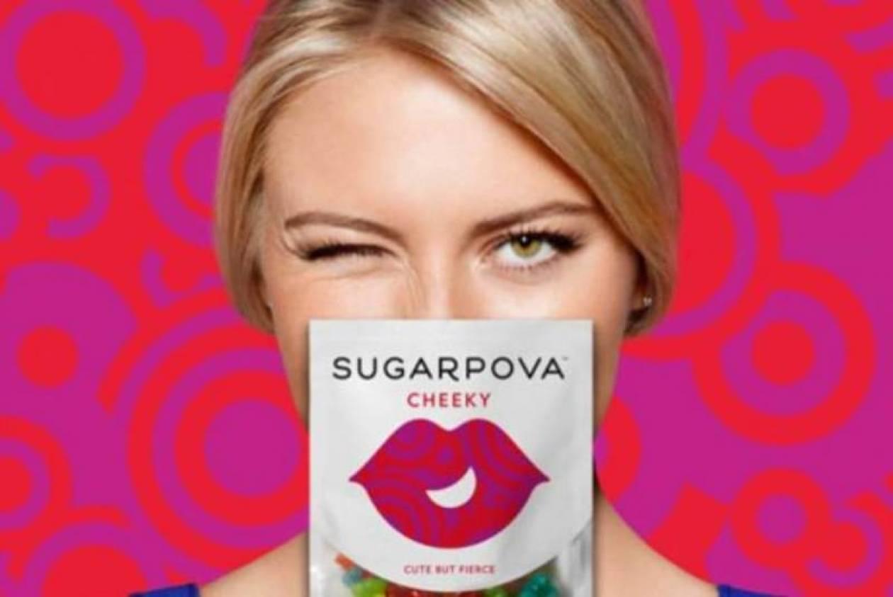 Τένις: Σαράποβα από ζάχαρη! (video+photos)