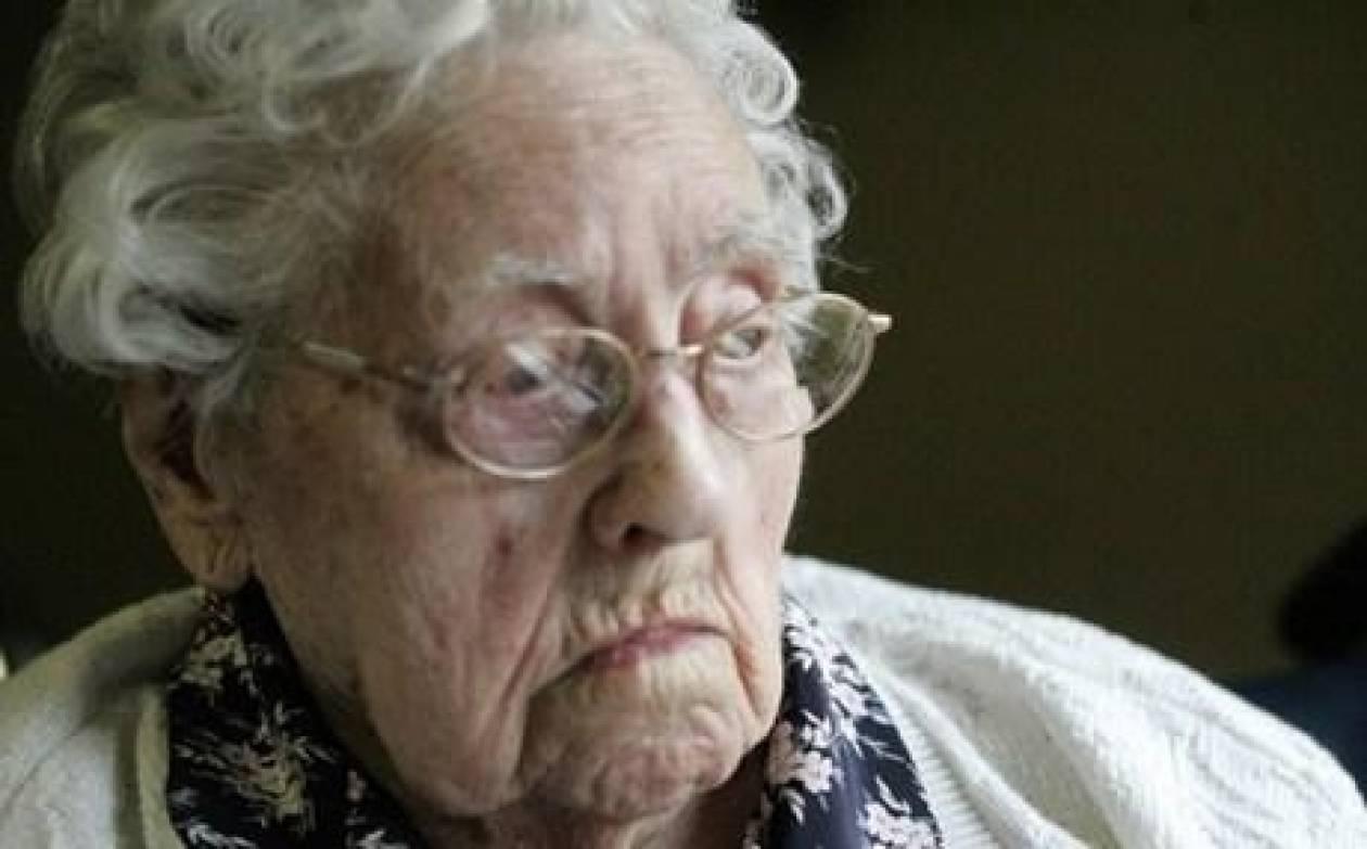 Πέθανε 2 βδομάδες αφού ανακηρύχθηκε γηραιότερη γυναίκα του κόσμου