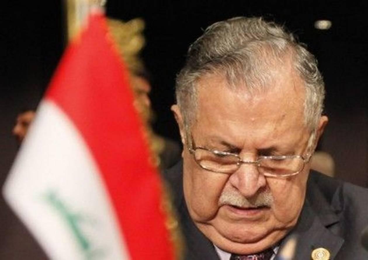Στο νοσοκομείο εισήχθη αιφνιδίως ο πρόεδρος του Ιράκ