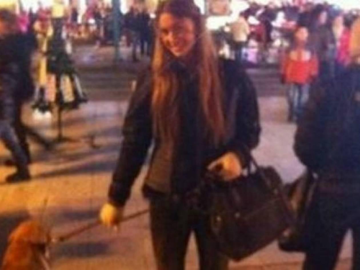 Άννα Πρέλεβιτς: Βόλτα στη στολισμένη Θεσσαλονίκη!