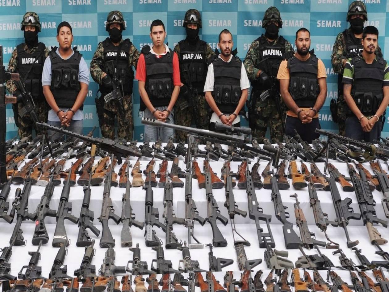 Μεξικό: 70.000 νεκροί από το οργανωμένο έγκλημα τα τελευταία 6 χρόνια