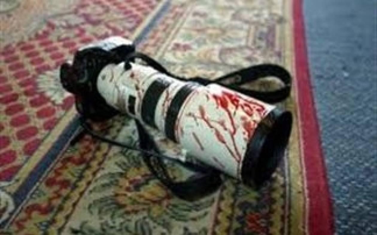 Από τις πιο αιματηρές χρονιές για τους δημοσιογράφους το 2012
