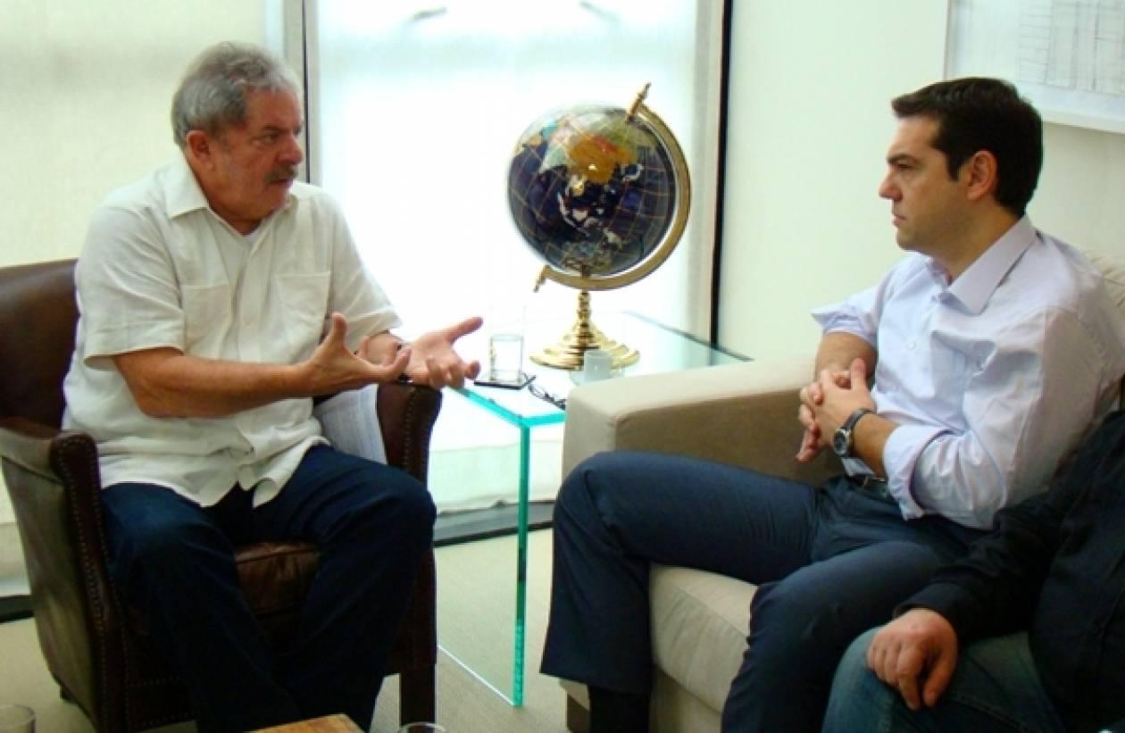 Λούλα σε Τσίπρα: Ο ελληνικός λαός είναι πιο δυνατός από την κρίση !