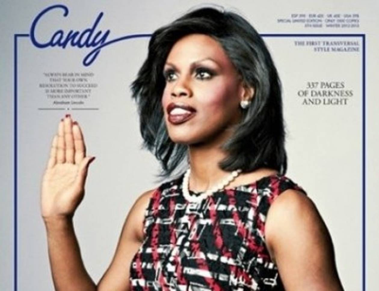 Δείτε την transsexual σωσία της Michelle Obama!