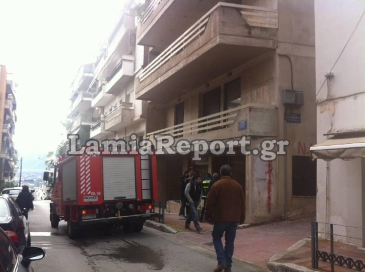 Έκρηξη σε λέβητα στο κέντρο της Λαμίας (pics)