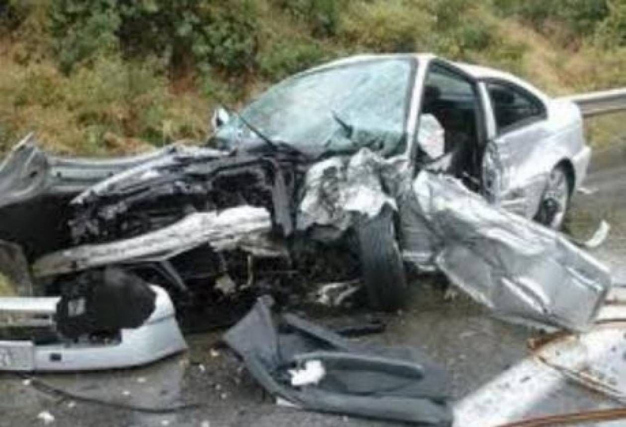 Εγνατία Οδός: Ένας νεκρός και ένας σοβαρά τραυματίας σε τροχαίο