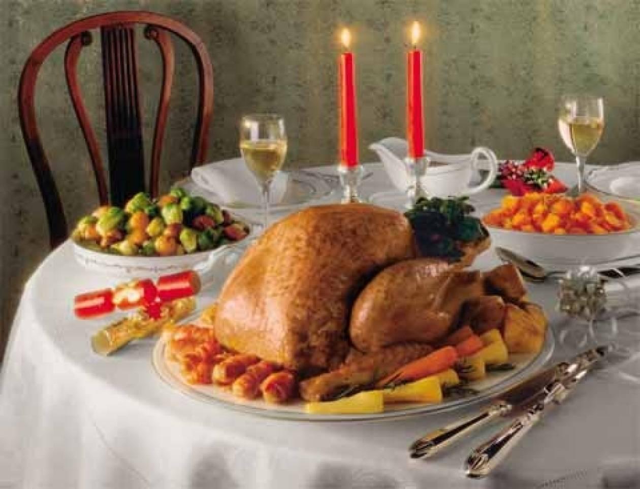 ΕΣΕΕ: Φθηνότερο φέτος το χριστουγεννιάτικο τραπέζι