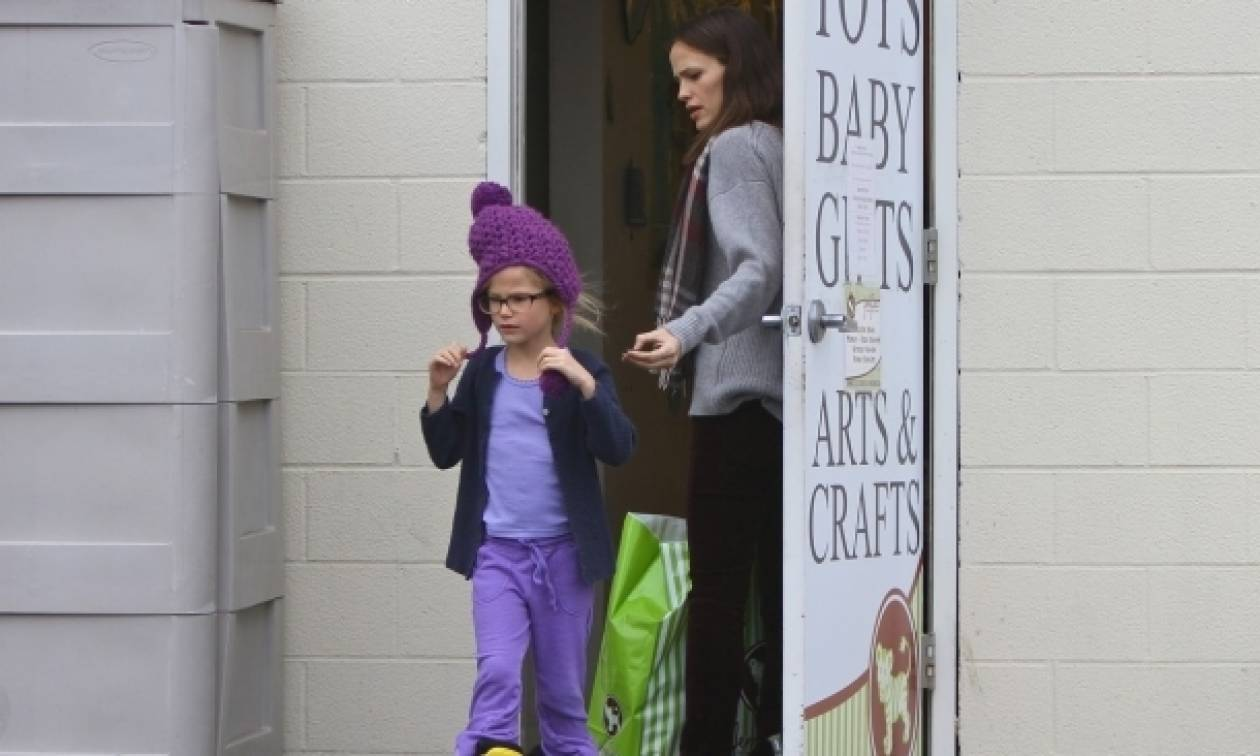 Jennifer Garner – Ben Affleck: Ψώνια με τις κόρες τους