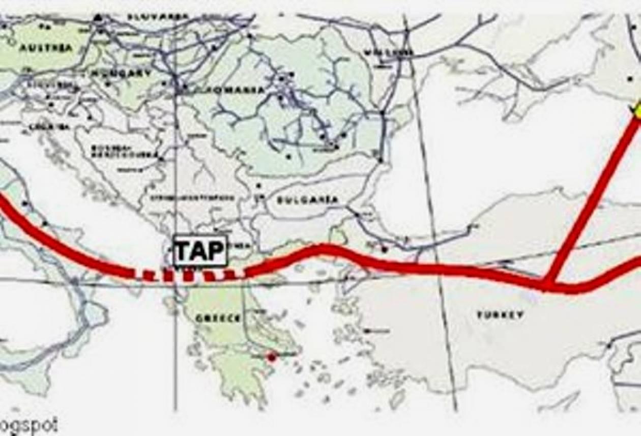 Έναρξη συνομιλιών της κοινοπραξίας του Αγωγού TAP με την Ελλάδα