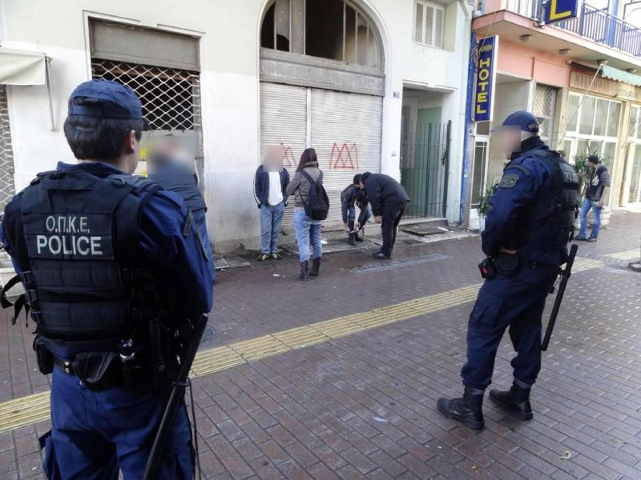 Δείτε τη «σκούπα» της Αστυνομίας για ναρκωτικά στο Κέντρο (pics-video)