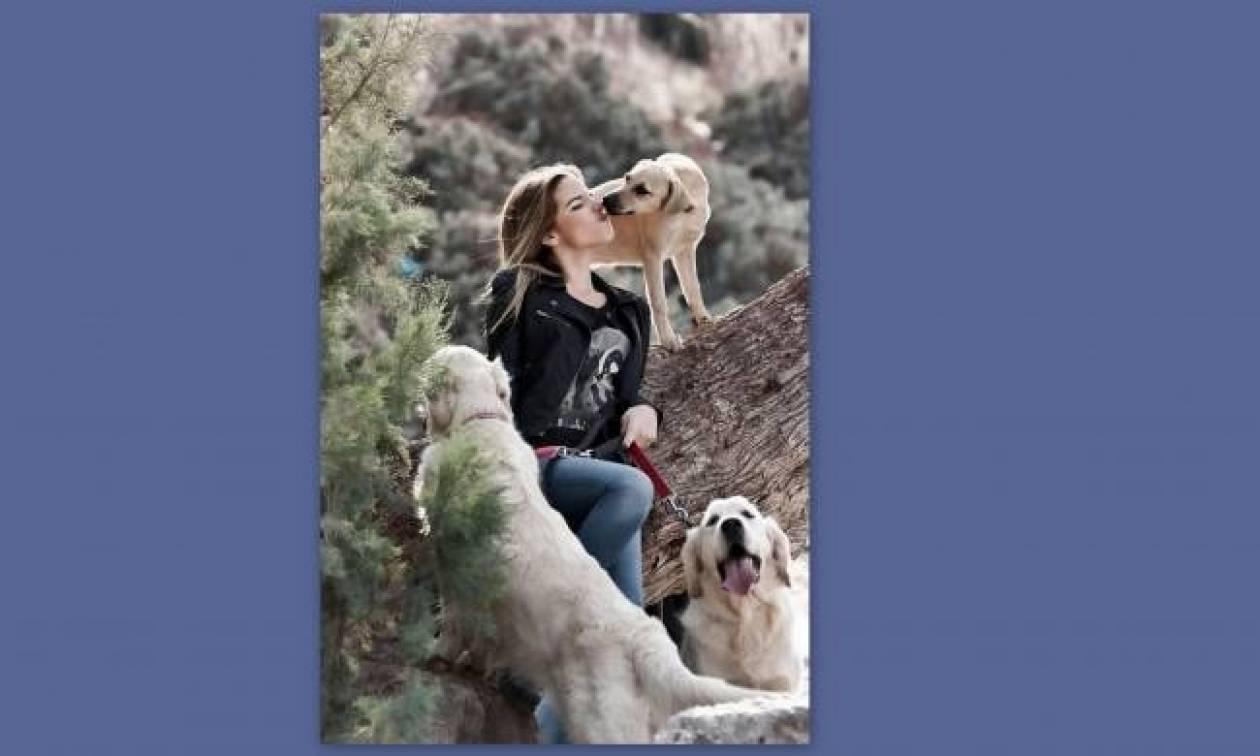 Η Εριέττα Κούρκουλου, τα σκυλάκια της και το… twitter!