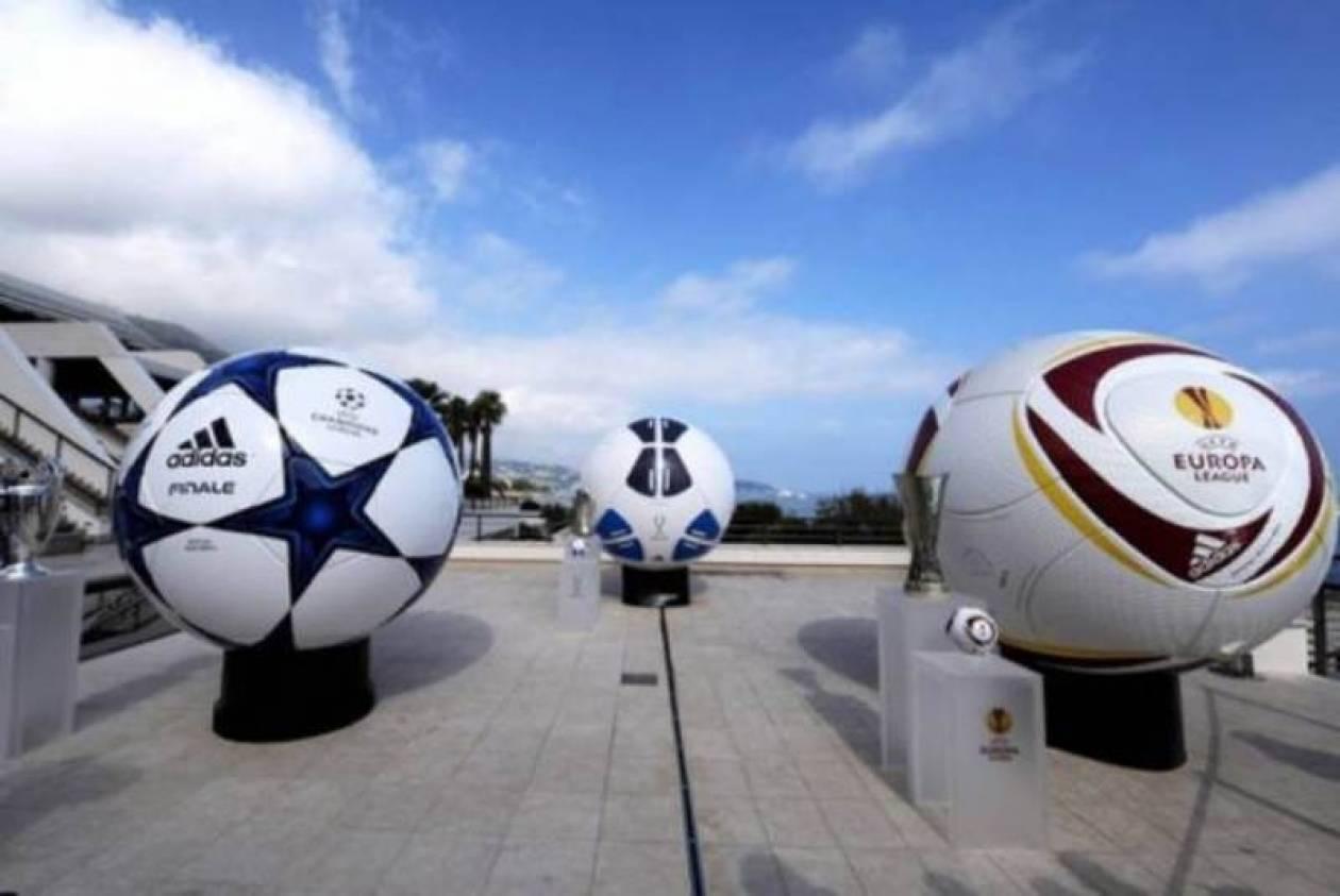LIVE: Η κλήρωση του Champions και του Europa League