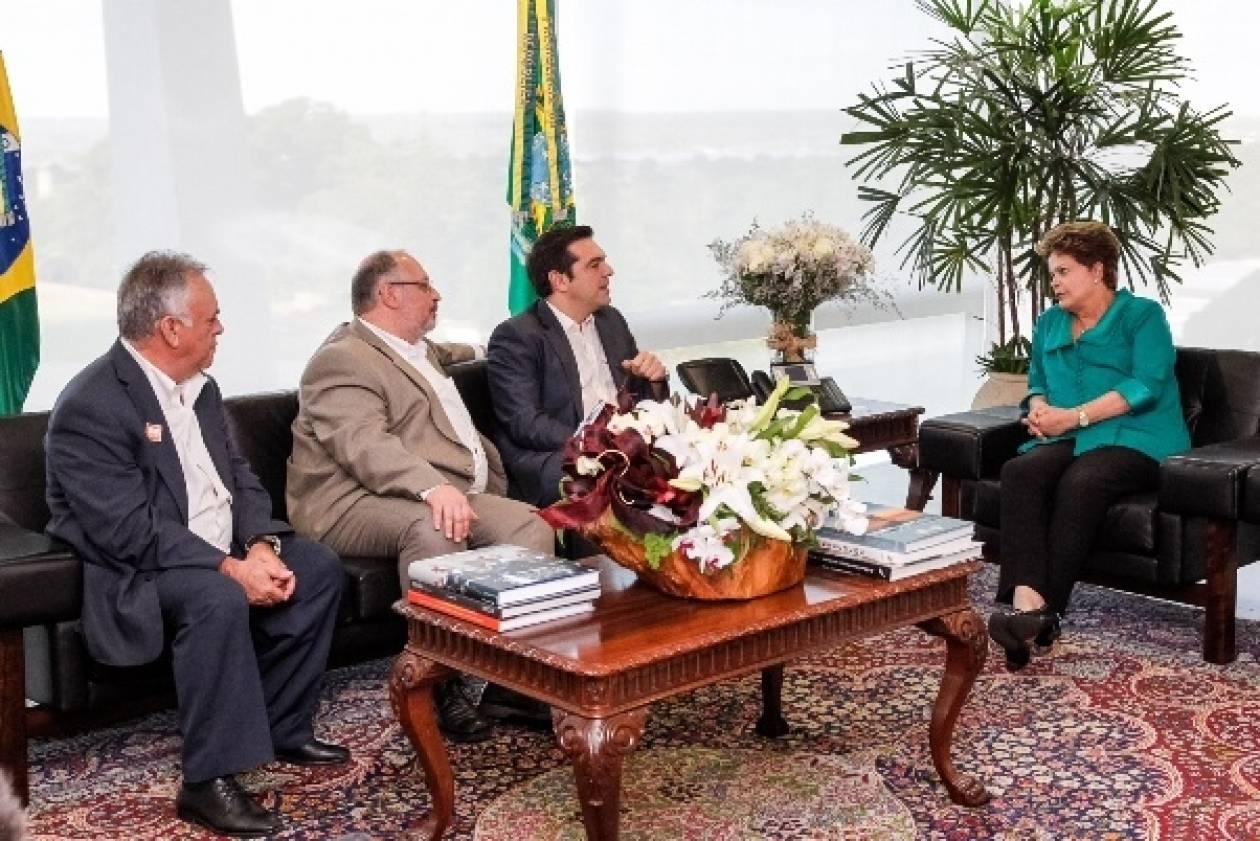 ΣΥΡΙΖΑ:Η Βραζιλία θα ζητήσει στο ΔΝΤ γενναία διαγραφή του ελλ. χρέους!