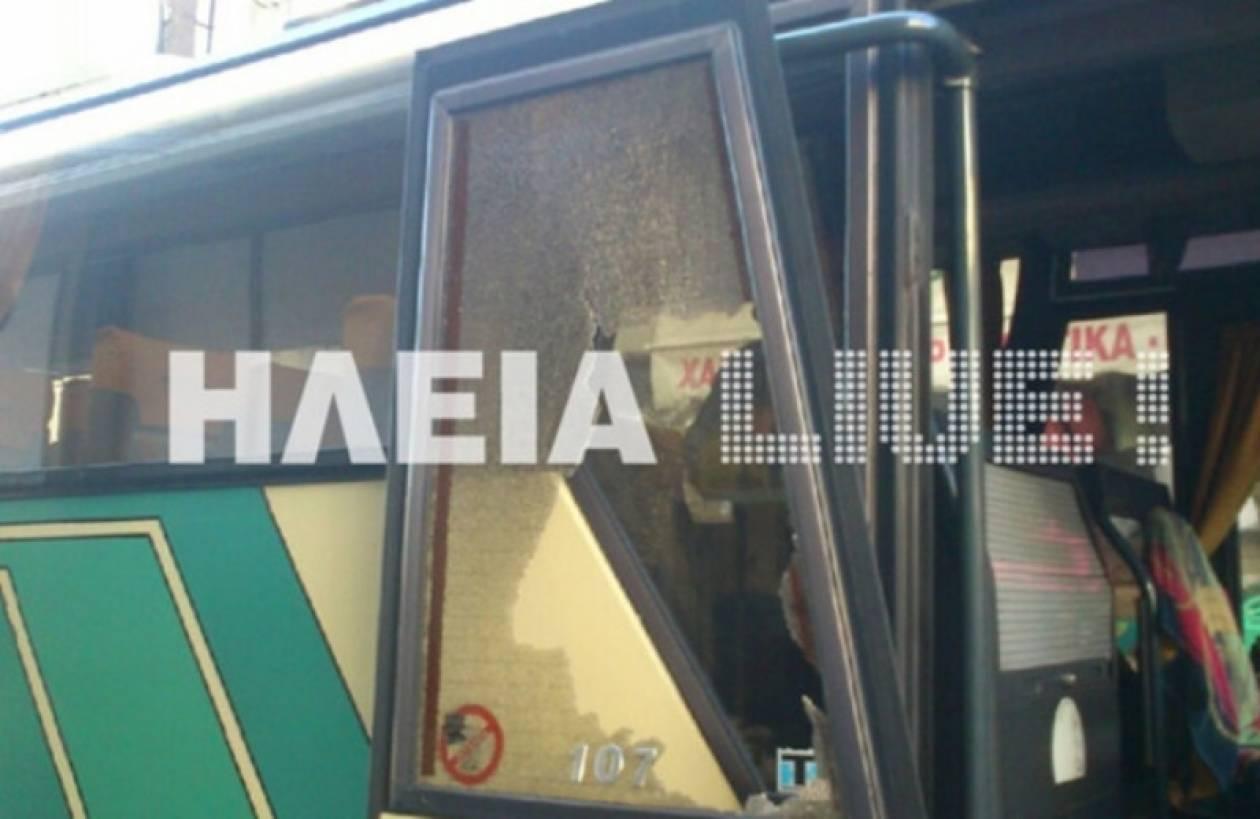 Μεθυσμένος επιτέθηκε σε λεωφορείο με μαθητές- Απειλούσε να το κάψει