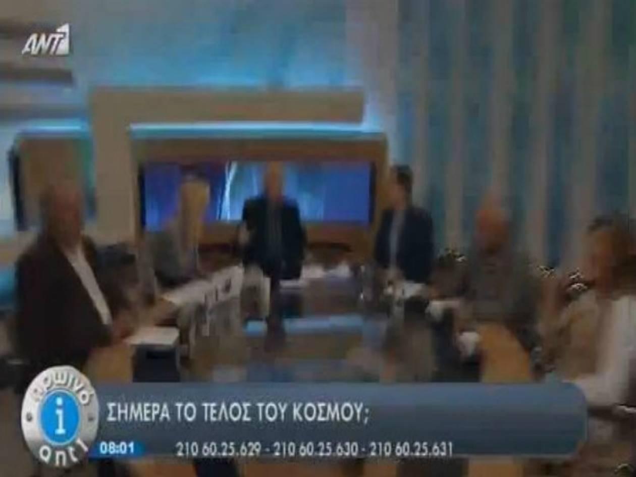 Το τέλος του κόσμου ήρθε στην εκπομπή του Παπαδάκη (vid)
